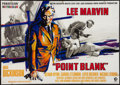 "Movie Posters:Crime, Point Blank (MGM, 1968). German A0 (33"" X 46.5""). Crime.. ..."