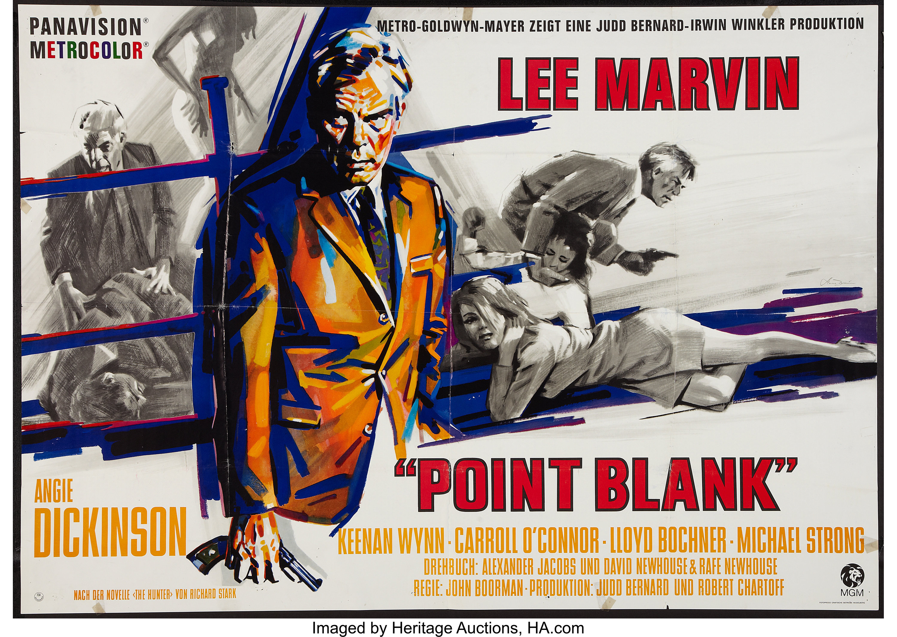 check out 3deca aaf90 Point Blank (MGM, 1968). German A0 (33