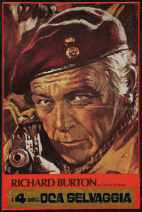 """The Wild Geese (Allied Artists, 1978). Set of 3 Italian Posters (20"""" X 30""""). War. ... (Total: 3 Items)"""