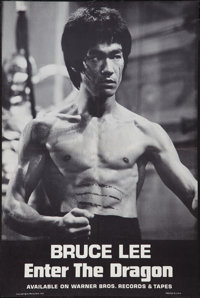 """Enter the Dragon (Warner Brothers, 1973). Soundtrack Poster (18"""" X 27.5""""). Action"""