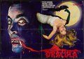 "Movie Posters:Horror, Horror of Dracula (Universal International, R-1970s). German A0 (33"" X 46.5""). Horror.. ..."