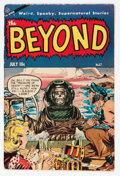 Golden Age (1938-1955):Horror, The Beyond #27 (Ace, 1954) Condition: VG/FN....