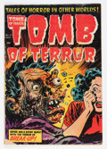 Golden Age (1938-1955):Horror, Tomb of Terror #15 (Harvey, 1954) Condition: VG-....
