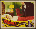 "Movie Posters:Horror, Dracula (Realart, R-1951). Lobby Card (11"" X 14""). Horror.. ..."