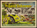 "Movie Posters:Science Fiction, The Land Unknown (Universal International, 1957). Half Sheet (22"" X28"") Style A. Science Fiction.. ..."