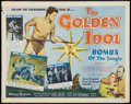 "Movie Posters:Adventure, The Golden Idol (Allied Artists, 1954). Autographed Half Sheet (22""X 28""). Adventure.. ..."