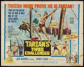 "Movie Posters:Adventure, Tarzan's Three Challenges (MGM, 1963). Autographed Half Sheet (22""X 28""). Adventure.. ..."