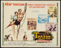 "Movie Posters:Adventure, Tarzan the Ape Man (MGM, 1959). Autographed Half Sheet (22"" X 28"").Adventure.. ..."
