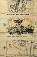 "Movie/TV Memorabilia:Autographs and Signed Items, A Working Storyboard from ""Gremlins.""..."