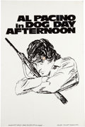 """Movie/TV Memorabilia:Autographs and Signed Items, A Concept Artwork from """"Dog Day Afternoon.""""..."""