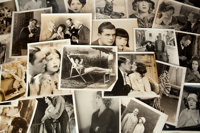 A Huge Collection of Black and White Film Stills from 'Cinema Art' Magazine, 1920s