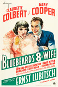 "Movie Posters:Comedy, Bluebeard's Eighth Wife (Paramount, 1938). One Sheet (27"" X 41"")Style A.. ..."