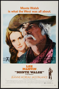 "Monte Walsh & Other Lot (National General, 1970). One Sheets (2) (27"" X 41"") Regular and Style A. West..."