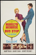 "Movie Posters:Drama, Bus Stop (20th Century Fox, 1956). One Sheet (27"" X 41""). Drama....."