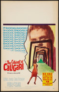 "Movie Posters:Horror, The Cabinet of Caligari (20th Century Fox, 1962). Window Card (14"" X 22""). Horror.. ..."
