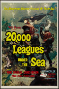 """Movie Posters:Science Fiction, 20,000 Leagues Under the Sea (Buena Vista, R-1963). One Sheet (27"""" X 41"""") Style A. Science Fiction.. ..."""