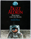 Books:Children's Books, [Astronaut]. Buzz Aldrin. SIGNED. Reaching for the Moon.HarperCollins, 2005. Third printing. Signed by the au...