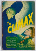 Books:Mystery & Detective Fiction, Florence Jay Lewis. The Climax. Books, 1944. Photoplay edition. Leaning. Spine sunned. Very good....