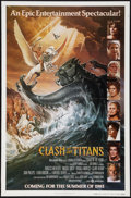 "Movie Posters:Fantasy, Clash of the Titans (MGM, 1981). Autographed One Sheet (27"" X 41"")Advance and Lobby Card (11"" X 14""). Fantasy.. ... (Total: 2 Items)"