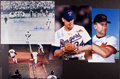 Baseball Collectibles:Photos, Baseball Legends and Famous Moments Signed Oversized Photographs Lot of 4....