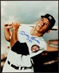 """Baseball Collectibles:Photos, Mickey Mantle """"1952"""" Signed Oversized Photograph...."""