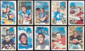 Football Cards:Sets, 1970 Kellogg's Football Collection (99) With Near Set. ...