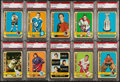 Hockey Cards:Lots, 1972 Topps Hockey PSA Mint 9 Collection (19). ...