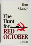 Books:Fiction, Tom Clancy. The Hunt for Red October. Naval Institute, 1984.First edition, first printing, in the first issue jacke...