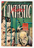 Golden Age (1938-1955):Horror, Fantastic Fears #9 (Farrell, 1954) Condition: VG-....