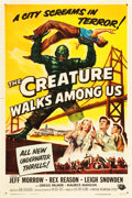 "Movie Posters:Horror, The Creature Walks Among Us (Universal International, 1956). OneSheet (27"" X 41"").. ..."