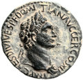Ancients, Ancients: Agrippa II (49/50 - 94/95 AD). Mint of Caesarea Maritima. AE (25.8 mm, 8.63 gm, 6h)....