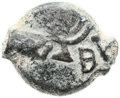 Ancients:Judaea, Ancients: Mattatayah Antigonus (40 - 37 BC). AE prutah (15.9 mm,1.54 gm, 12h)....