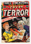 Golden Age (1938-1955):Horror, Three Dimensional Tales from the Crypt of Terror #2 (EC, 1954)Condition: FR....