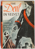 Books:Fiction, John Dickson Carr. The Devil in Velvet. Harper, 1951. First edition, first printing. Toning and minor rubbing. Very ...
