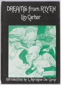 Books:Horror & Supernatural, Lin Carter. SIGNED. Dreams From R'lyeh. Arkham House, 1975. First edition, first printing. Signed by the author. ...