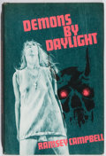 Books:Horror & Supernatural, Ramsey Campbell. INSCRIBED. Demons by Daylight. ArkhamHouse, 1973. First edition, first printing. Signed and ...