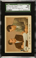 """Baseball Cards:Singles (1950-1959), 1959 Fleer Ted Williams """"Ted Signs For 1959"""" #68 SGC 88 NM/MT 8...."""