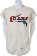 Baseball Collectibles:Uniforms, 1962-64 Houston Colt .45s Game Worn Jersey....