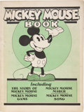 Platinum Age (1897-1937):Miscellaneous, Mickey Mouse Book - First Printing (Bibo & Lang, 1930)Condition: VG/FN....