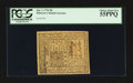 Colonial Notes:Delaware, Delaware January 1, 1776 20s PCGS Choice About New 55PPQ.. ...
