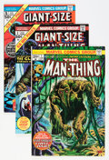 Bronze Age (1970-1979):Horror, Man-Thing Plus Group (Marvel, 1971-81) Condition: Average VF....(Total: 28 Comic Books)