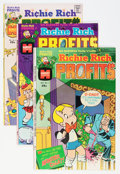 Bronze Age (1970-1979):Cartoon Character, Richie Rich Profits #1-47 File Copies Box Lot (Harvey, 1974-82)Condition: Average NM-....
