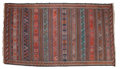 Rugs & Textiles:Hook Rugs, A KILIM WOOL RUG . 20th century . 120 x 61 inches (304.8 x 154.9cm). Elton Hyder III Collection Formerly at the Universit...