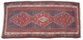 Rugs & Textiles:Hook Rugs, A KILIM WOOL RUG . 20th century . 118 x 52 inches (299.7 x 132.1cm). Elton Hyder III Collection Formerly at the Universit...