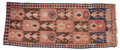 Rugs & Textiles:Hook Rugs, A KILIM WOOL RUG . 20th century . 140 x 56 inches (355.6 x 142.2cm). Elton Hyder III Collection Formerly at the Universit...