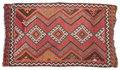 Rugs & Textiles:Hook Rugs, A KILIM WOOL RUG . 20th century . 92 x 53 inches (233.7 x 134.6cm). Elton Hyder III Collection Formerly at the University...