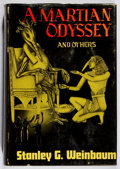 Books:Science Fiction & Fantasy, Stanley Weinbaum. LIMITED. The Martian Odyssey. Fantasy Press, 1949. First edition, first printing. Limited to...