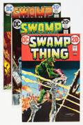 Bronze Age (1970-1979):Horror, Swamp Thing Group (DC, 1973-76) Condition: Average VF.... (Total: 7Comic Books)