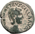 Ancients:City Coins, Ancients: SAMARIA. Caesarea. Herennia Etruscilla, wife of Trajan Decius (249 - 251 AD). AE 26.9mm (19.26 gm, 12h)....
