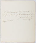 Autographs:Authors, Jane Goodwin Austin (1851-1894, American Writer). Autograph Letter Signed. Very good....